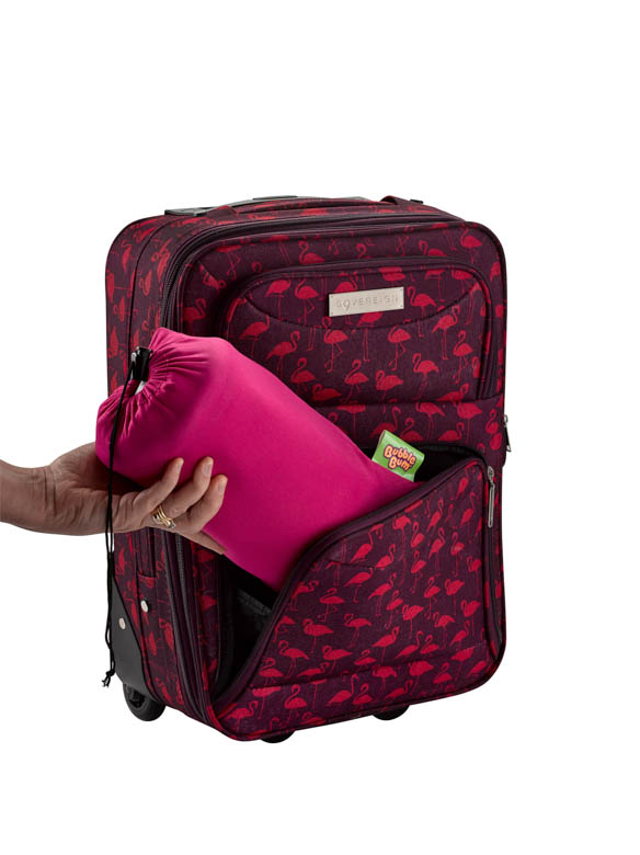 Pink Booster Seat Packable