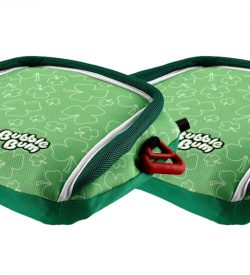BubbleBum car booster seat twin bundle shamrock design