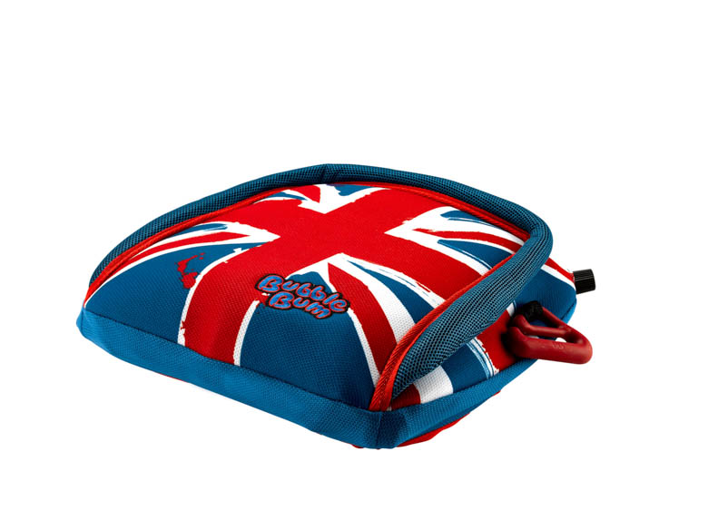 BubbleBum Care Booster Seat Union Jack Design 2