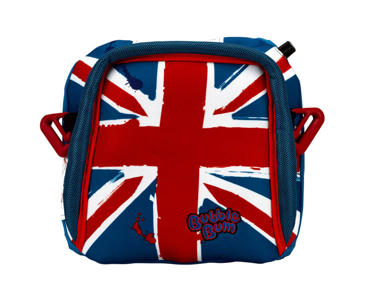 BubbleBum Care Booster Seat Union Jack Design