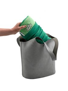 BubbleBum Car Booster Seat shamrock Design - fits a handbag