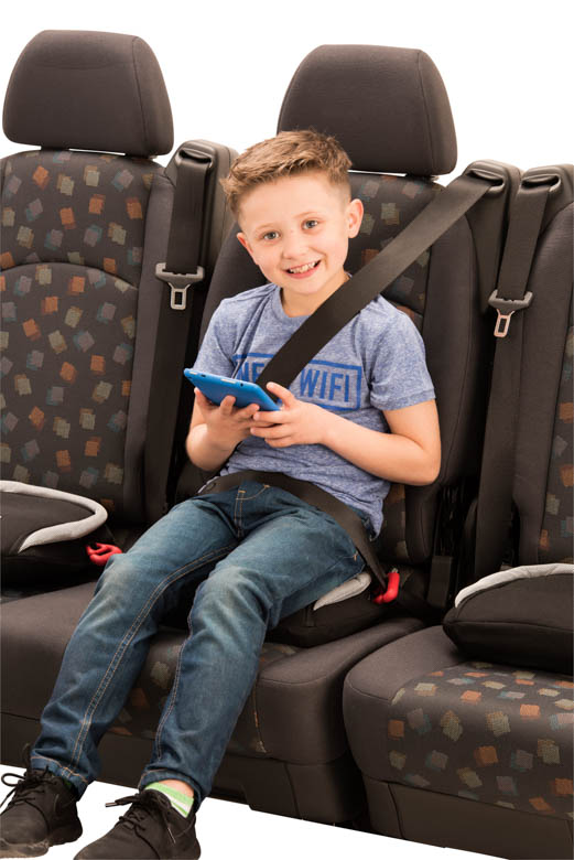 Bubblebum Inflatable Travel Car Booster Seat For Children